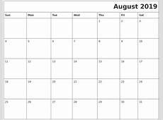 November 2019 Monthly Calendar Printable
