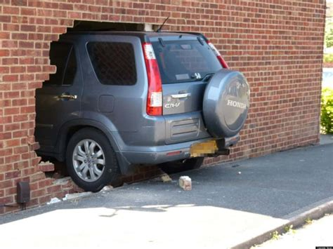10 Of The Strangest And Funniest Car Crashes