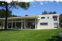 Images for maison contemporaine plain pied toit plat a vendre ...