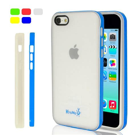 iphone 5c clear iphone 5c clear hybrid blue khomo accessories europe
