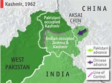 india occupied by Pakistan & China YouTube