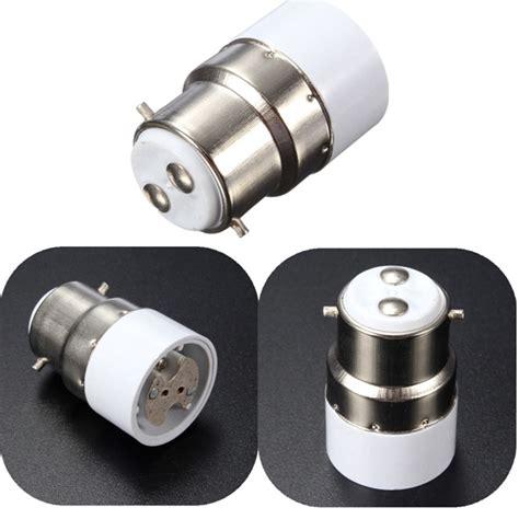 b22 to mr16 base led light l bulb holder adapter