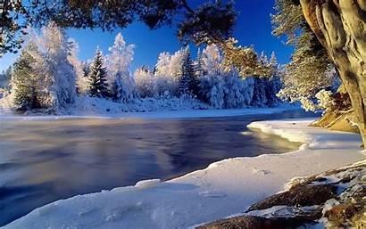 Winter Landscape Desktop Background Pixelstalk