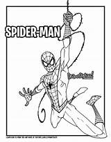 Spider Verse Into Draw Drawing Coloring Too Tutorial sketch template