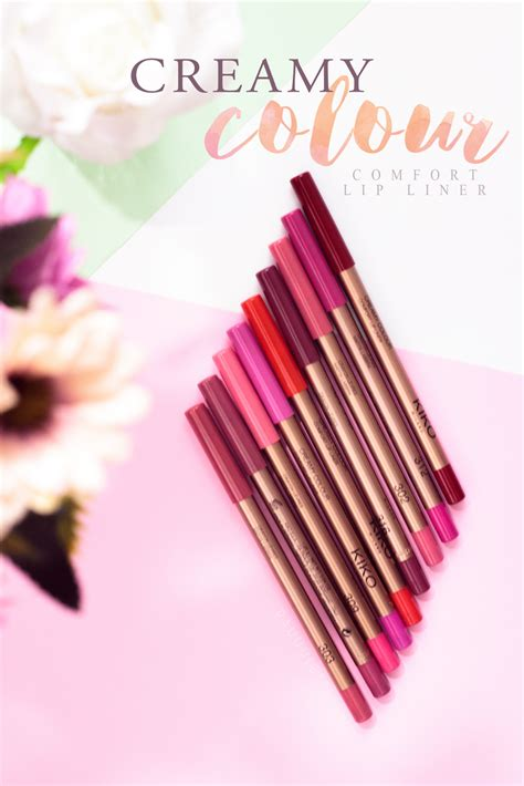 kiko si鑒e social colour comfort lip liner kiko pauuulette