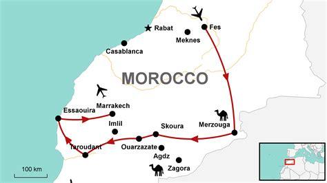 Carte Maroc Avec Villes by The Quot Grand Tour Quot Fleewinter