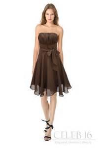 brown dresses for wedding satin brown bridesmaid 39 s dress amanda