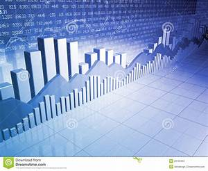 Stock Market Bars  Charts And Graphs Stock Illustration