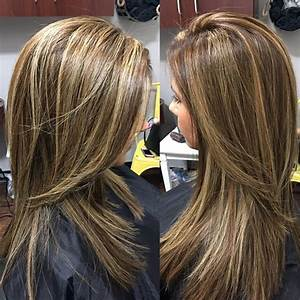 Partial foil highlights and lowlights and finished off ...
