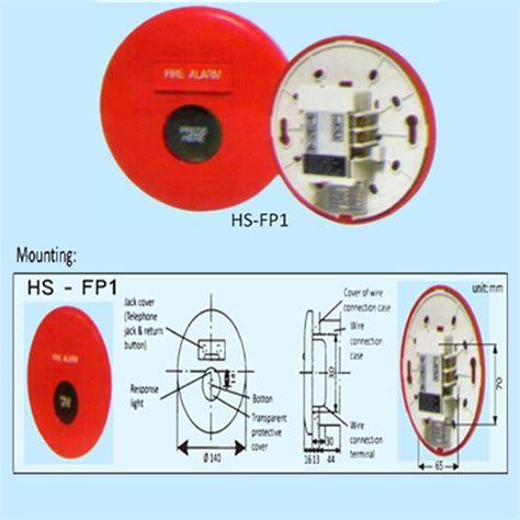 Fire Alarm Station Manual Push Button