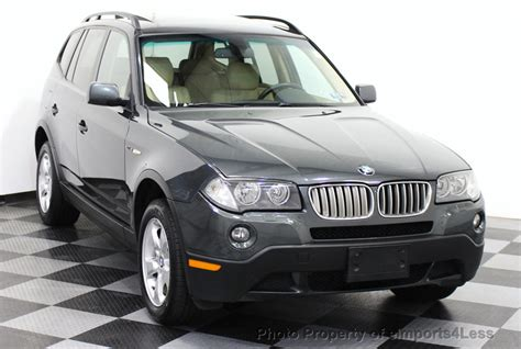2007 Used Bmw X3 X3 3.0si Awd Suv Premium Package At