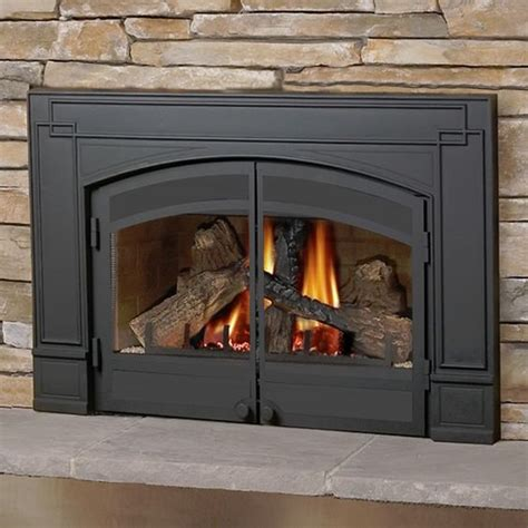 direct vent gas fireplace insert napoleon gdi 30 direct vent gas fireplace insert