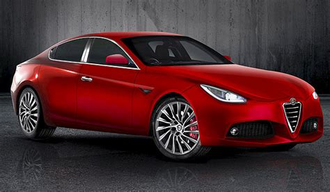Upcoming Alfa Romeo Giulia Rendered