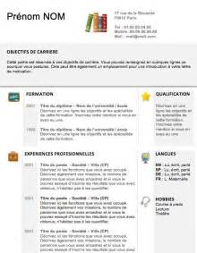 Comment Faire Un Cv En Franàçais Exemple by Exemple Cv Francais Professeur Sle Resume