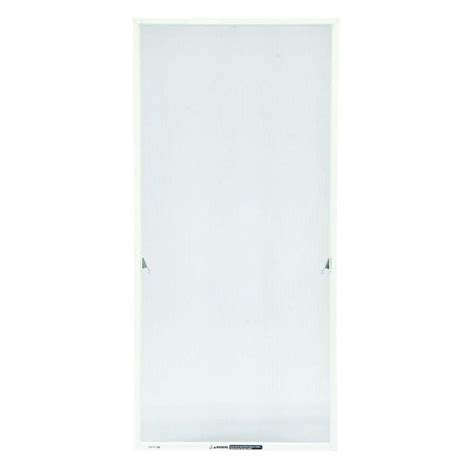 andersen        white aluminum casement insect screen    home