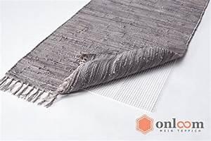 Antirutschmatte Teppich Auf Teppich : onloom antirutschmatte wei er teppich stopp rutschhemmende teppichunterlage in verschiedenen ~ Markanthonyermac.com Haus und Dekorationen