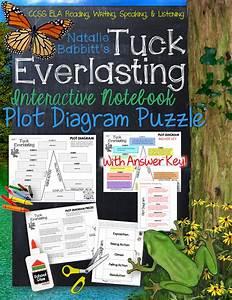 Tuck Everlasting  Plot Diagram  Story Map  Plot Pyramid
