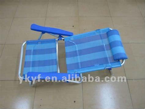 chaise pliante de plage pliable bas réglable de siège accoudoir chaise de plage