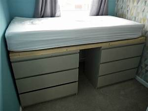 Ikea Malm Drawer Hack To Single Bed Renovation Bay Bee