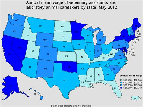 Vet Salary by Veterinary Assistant Salary The Career Trove