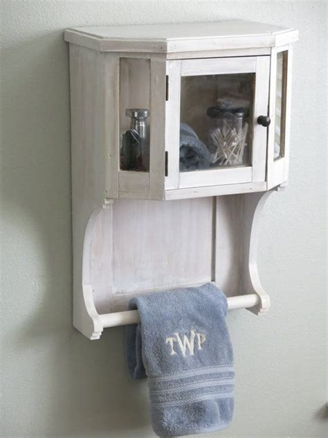 bathroom cabinet with towel rack whitewashed bathroom towel rack with cabinet