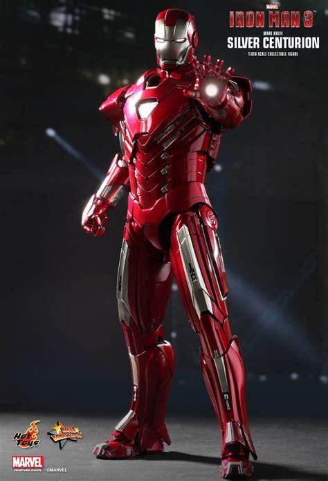 iron man  mark xxxiii  silver centurion armor