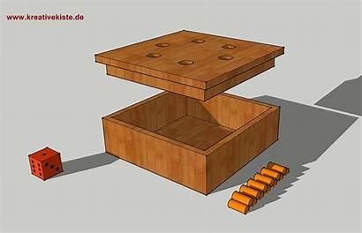 Holz Spiel Raus Bauanleitung Spiele Wuerfel Bastelideen