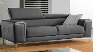 canape 3 places convertible gris royal sofa idee de With canapé convertible pas cher 3 places
