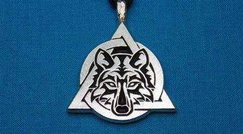 tribal wolf therian symbol otherkin medium lead