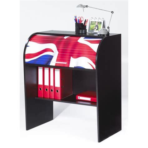 bureau drapeau anglais bureau enfant noir à cylindre beaux meubles pas chers