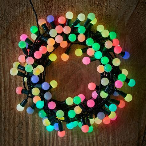 240 Colour Changing LED Berry Bulb String Lights