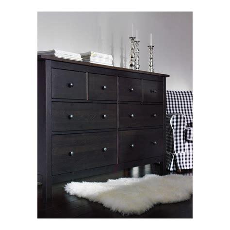 black dresser ikea hemnes chest of 8 drawers black brown 160x96 cm ikea