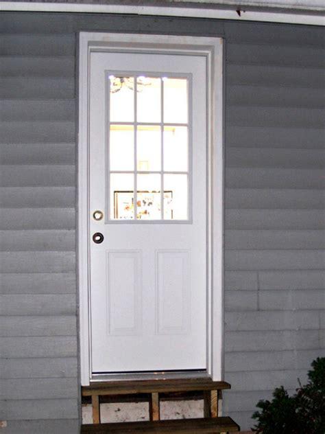 Exterior Door With Window by Expanding A Window To A Door Hgtv
