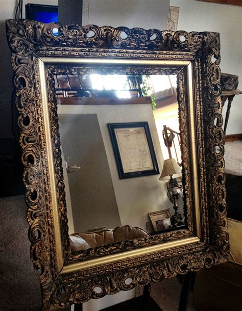 how to frame a medicine cabinet mirror diy medicine cabinet using old picture frame repurposed