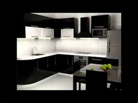 Decorating Ideas For Kitchens With White Cabinets - black and white kitchen cabinets youtube