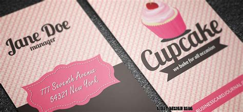 girly business cards templates free 10 stylish free business and gift card templates girly