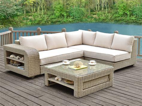 canap 233 de jardin confort et soleil le de vente unique