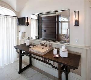 Waschtisch Holz Modern : 14 badezimmer design ideen f r elegante formen und feine materialien ~ Sanjose-hotels-ca.com Haus und Dekorationen