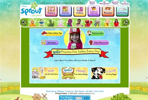 26 best websites for amp preschoolers 585 | sprout kid site min
