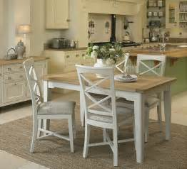 cottage dining room sets cottage oak and painted small extending dining table oak furniture uk