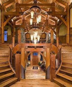Log cabin homes exterior interior furniture and decor for Log homes interior designs 2