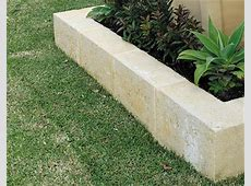 Landscaping and Garden Edging Blocks UrbanStone Central