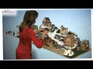 Miniature Christmas Village Ski Lift