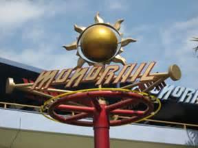 Disneyland Monorail Sign