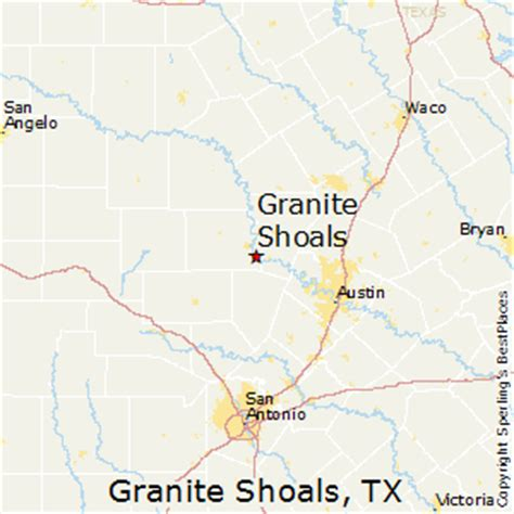 best places to live in granite shoals