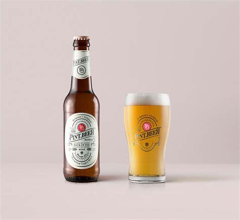 The best bottle mockups free download for your next project. Free Amber Beer Bottle Mockup | Mockuptree