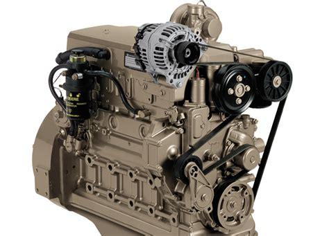 john deere industrial engine service