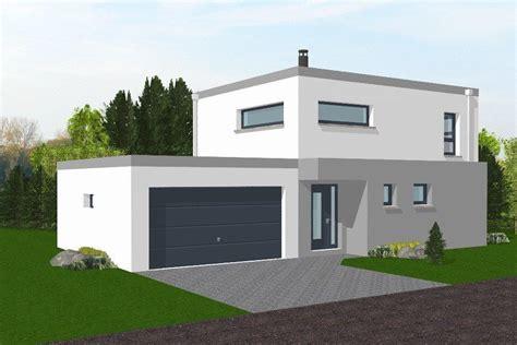 maison neuve moderne toit plat