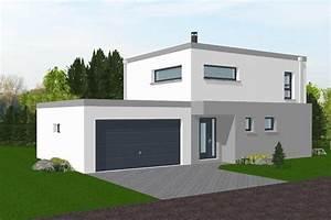Maison Sans Toit : maison neuve moderne toit plat ~ Farleysfitness.com Idées de Décoration