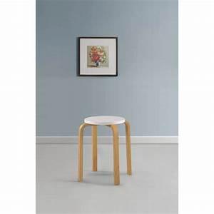 Weiße Farbe Angebot : 4 wei e stapelbare hocker aus massivem bugholz g nstig kaufen ~ Eleganceandgraceweddings.com Haus und Dekorationen